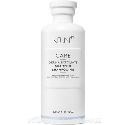KEUNE Шампунь отшелушивающий / CARE Derma Exfoliate Shampoo, 300 мл. (21300) Кёне