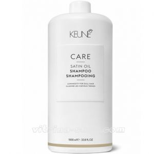 KEUNE Шампунь Шелковый уход / CARE Satin Oil Shampoo, 1000 мл. (21311) Кёне