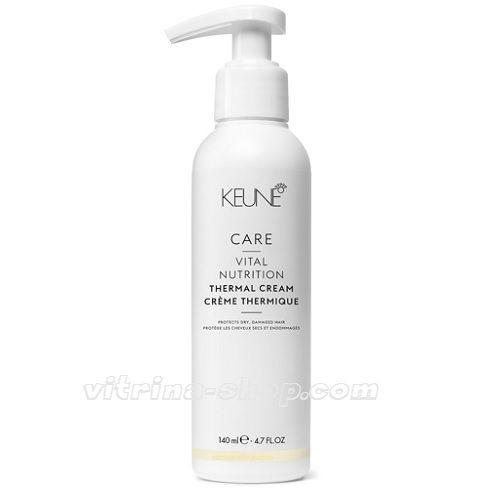 KEUNE Крем термо-защита Основное питание / CARE Vital Nutr Thermal Cream, 140 мл. (21328) Кёне