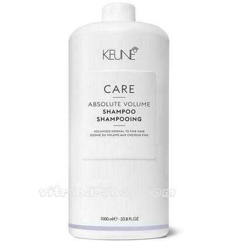 KEUNE Шампунь Абсолютный объем / CARE Absolute Volume Shampoo, 1000 мл. (21346) Кёне
