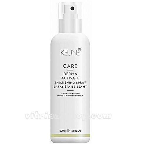 KEUNE Укрепляющий спрей против выпадения волос / CARE Derma Activate Thickening Spray, 200 мл. (21308) Кёне